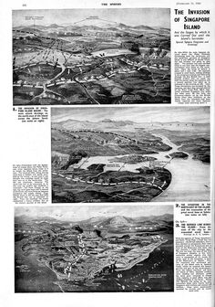 the Invasion of Singapore, Second World War - The Sphere , Saturday 21 February 1942 (scheduled via http://www.tailwindapp.com?utm_source=pinterest&utm_medium=twpin&utm_content=post183817889&utm_campaign=scheduler_attribution)