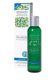Andalou Naturals Kombucha Cleansing Gel, Citrus, 6 Ounce Prescribed Solutions A Bolt of Lightening Skin Brightening Serum (0.9oz/27ml)