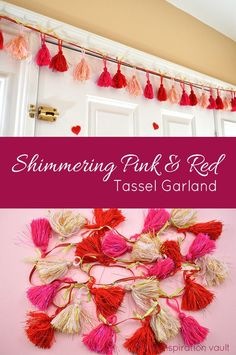 Shimmering Red & Pin