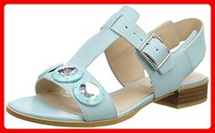 Clarks Bliss Melody, Damen Sandalen, Blau (Duck Egg Blue Leather), 39 EU (5.5 Damen UK) - Sandalen für frauen (*Partner-Link)