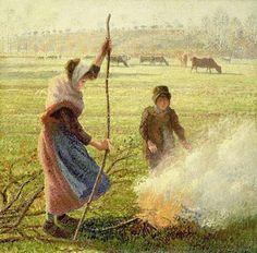 Camille Pissarro .1890