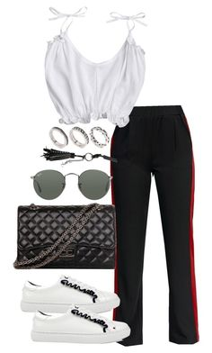 """Untitled #4479"" by theeuropeancloset on Polyvore featuring ASOS, Ray-Ban and Yves Saint Laurent"