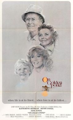 On Golden Pond (1981) Original One-Sheet Movie Poster
