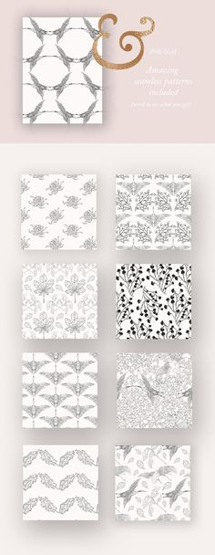 Autumn Patterns & Illustrations  by Laras Wonderland on @creativemarket