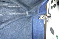 Zelf je perfecte spijkerbroek maken 1 » BERNINA Blog Denim Crafts, Shirt Dress, Sewing, Pants, Shirts, Dresses, Projects, Blog, Fashion