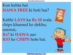HAWA FREE ki hoti hai  Daily Status Quotes
