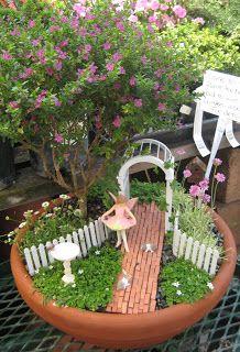 17 Of The Coolest DIY Fairy Garden Ideas For Small Backyards | GARDEN    MINIATURE GARDENS | Pinterest | Fairy, Gardens And Garden Ideas