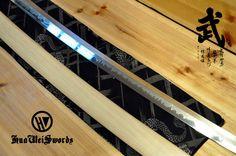 Aliexpress.com : Handgemachte Shinogi Zukuri Hazuya Poliert Weiß Holz Shirasaya Japanischen Schwert von verlässlichen holzspielzeug schwerter-Lieferanten auf huaweiforge kaufen