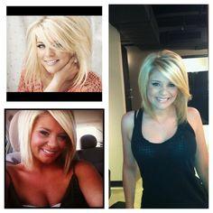 I love Lauren Alaina's hair! I want it cut like this.