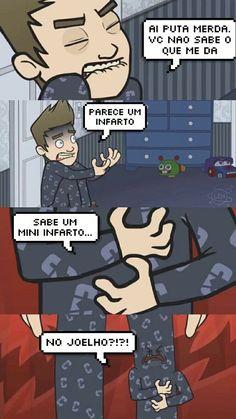 Cellbit animado. Fnaf Youtubers, Emo, Youtube Memes, Meme Maker, Internet Memes, Wtf Funny, Funny Comics, Best Memes, Fnaf