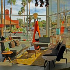 """midcentury  ModWeek where to shop """"just modern"""" 901 N. Canyon Drive, Palm Springs"""