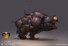 BUSHIDO - Oni Beast by *dinmoney on deviantART
