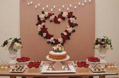 Ideas Party Ideas Engagement Dessert Tables For 2019 Engagement Decorations, Wedding Decorations, Wedding Proposals, Deco Table, Wedding Desserts, Marry Me, Birthday Decorations, Event Decor, Wedding Flowers