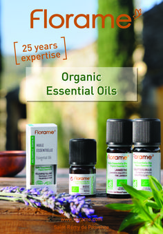"For 25 years Florame has been producing certified organic essential oils.  As they are classified as ""Therapeutic grade"" essential oils many of them can be ingested for their curative properties or flavouring in the culinary field."