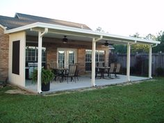 Free do it yourself wood projects how to build a wood patio cover covered patio with gutters google search solutioingenieria Gallery