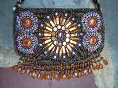 Exotic Beaded Fringe Trim Vintage Shoulder by worldmarketproductio, $65.00