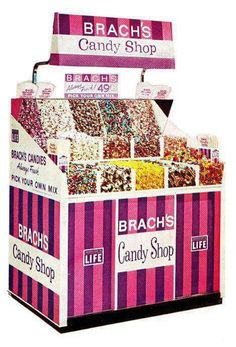 Brach's candy kiosk.  Sweet memories with my Grandma.