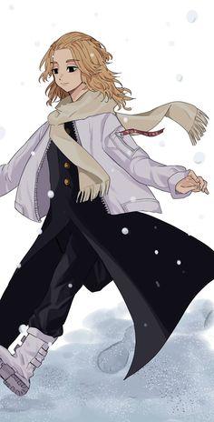 Anime Neko, Fanarts Anime, Kawaii Anime, Anime Characters, Character Art, Character Design, Eren X Mikasa, Tokyo Ravens, Mikey