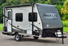 Ameri Lite Travel Trailer Is The Smallest From Gulf Stream Super Family Of Campers Well Equipped Kitchen Private Bath W And Toilet Offers