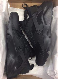 6d1f121768b6b Nike Air Huarache Run Ultra GS Black Presto 847569-004 Grade School 4-7