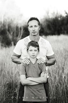 Gina Kolsrud - love the father son pose