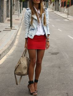 How to Wear Your Denim Jacket with Style - Glam Bistro