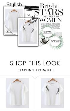 """""""Romwe"""" by bajapapaja ❤ liked on Polyvore featuring Agave"""