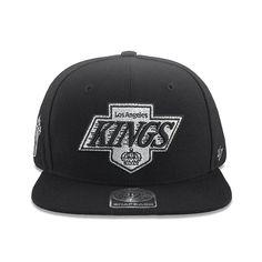7fce8b231ba Los Angeles Kings  47 NHL Sure Shot Snapback Hat - Black - 47 Brand