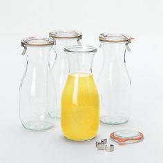Weck Juice Jar Set