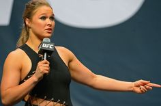 Ronda Rousey appears at Standing Rock to fight Donald Trump's Dakota Access Pipeline order