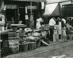 Italian Market, 1952. From the Philadelphiana, Market.