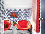 Red, White and Blue Room | HGTVRemodels.com