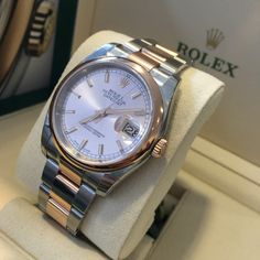Perfect for her, or could you carry it off?  Rolex Datejust 36 now in stock
