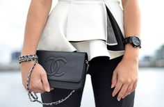 the elusive Chanel wallet on a chain!