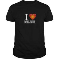 I LOVE Bellevue Tshirt