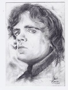 Game of Thrones Tyrion Lannister by CaseyJRhodesArt on Etsy, $35.00