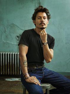 Johnny Depp;  Photo (Johnny Depp)