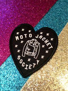 Moto Jacket Society patch