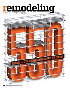 Remodelling Magazine – August 2014 Cover - Luke Lucas – Typographer   Graphic Designer   Art Director