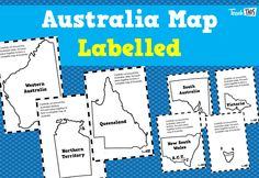 Australia - You're Standing In It - States Named