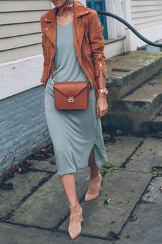 suede-moto-jacket-bobeau-knit-dress-anthropologie-matiko-suede-booties-prosecco-and-plaid