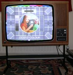 Vintage 1975 ITT 26 CVC9 Colour TV