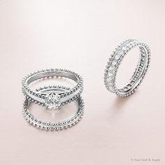 True symbol of love, Estelle ring refers to Estelle Arpels, who married Alfred Van Cleef before the creation of Van Cleef & Arpels in 1906