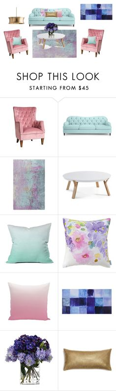 """""""#home"""" by seldy-enes ❤ liked on Polyvore featuring interior, interiors, interior design, home, home decor, interior decorating, Sasson Home, Kate Spade, Surya and DENY Designs"""