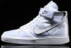 NIKE VANDAL HIGH SUPREME [WHITE / WHITE] 318330-100