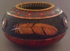 Image result for gourd art by john pointek