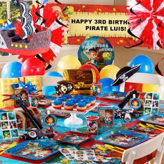 Jake and the Never Land Pirates Party Theme for nephew