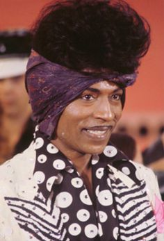 "waitful: ""kaka-hodari: "" Little Richard "" STYLE ICON """
