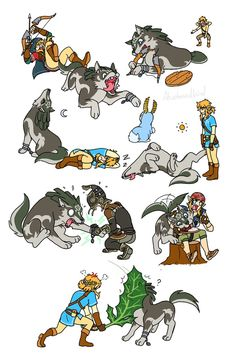 Wolf Link Chaos 10th Anniverasy (Botw Edition) by Humanoid-Magpie on DeviantArt