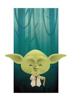 Kawaii Star Wars - Yoda